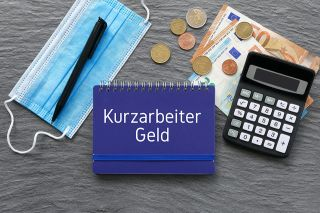 Foto: Notiz Kurzarbeit